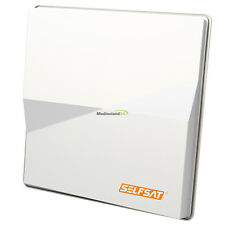 Selfsat Flachantenne H50 M H50M1 Single Sat Spiegel Antenne für Astra & Hotbird