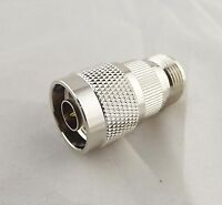 N Male Plug To N Female Jack Straight In Series M/F RF Coaxial Adapter Connector