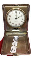 Antique Sterling Silver 8 Day Travel Watch/Clock