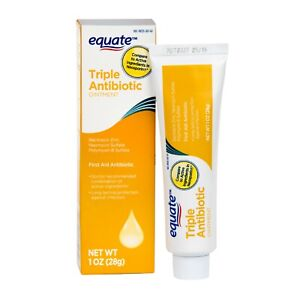 Equate Triple Antibiotic Ointment 28g Generic Neosporin Fast Same-Day Post