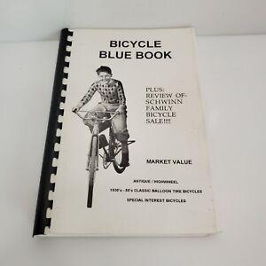 Vintage Bicycle Blue Book Market Value Memory Lane Classics HTF