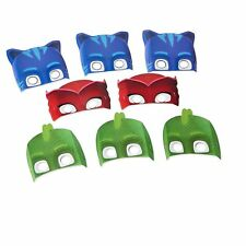 PJ Masks Birthday Paper Masks (8 ct) Party Supplies