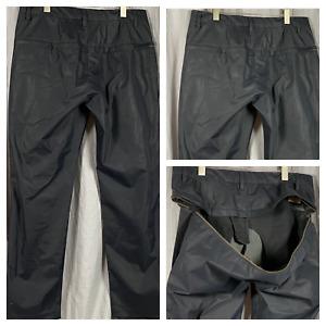 Dirk Bikkembergs Backside Zipper Men's 32 x 30 Pants Rubber Easy Access Pockets