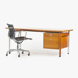 1960's Finn Juhl France & Son Technocrat Desk Model 963 in Teak Denmark Knoll