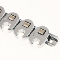 """10pcs 3/8""""-Drive SAE & METRIC Flare Nut CROWFOOT WRENCH SET w/ Snap-on Snap-off"""
