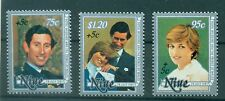 EVENEMENTS - ROYAL WEDDING CHARLES & DIANA  NIUE 1981 Year of Disabled People s