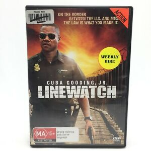 Linewatch (DVD, 2008) Region 4 With Cuba Gooding Jr. In Very Good Condition