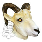 Latex Realistic RAM Head Party Mask - Halloween Props Theater Props Photography