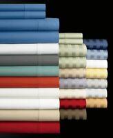 Extra Deep Pocket 4 PCs Bed Sheet Set 1000TC 100%Egyptian Cotton King Size