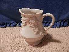 """Boyds Bears Home Holiday Ceramic Holly Design 7 1/2"""" Pitcher"""