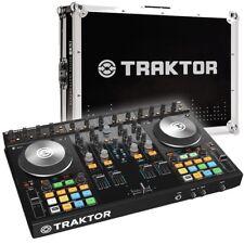 Native Traktor Kontrol S4 MK2 4-Channel DJ MIDI Controller & Flight Case