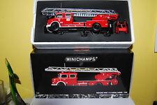 MINICHAMPS MERCEDES BENZ 1113 AERIAL LADDER DE1966 NEUF/BOITE NEW/BOX