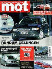 mot - Die Autozeitschrift 9/2004, BMW, Volvo, Mazda, Geländewagen