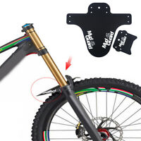 US_ 1PC MTB Mountain Bike Front Bicycle Fender Lightweight Mudguard Mud Guard HO