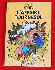 Hergé. L'Affaire Tournesol. Fac similé EO couleurs de 1956. Tirage mars 2005
