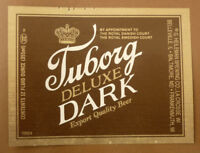 OLD USA BEER LABEL, HEILEMAN BREWING Co LA CROSSE WISCONSIN, TUBORG DARK