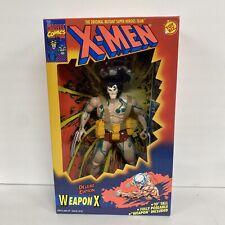 "Toy Biz 10"" Marvel Weapon X Deluxe Edition Action Figure 1994 Wolverine X-Men"