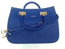 Liu Jo Damenhandtasche Shopping  M Quadrata Anna Kunstleder Blau N65085E0087-940