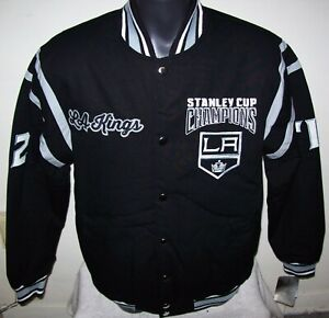 LOS ANGELES L.A. KINGS 2 TIME STANLEY CUP CHAMPIONSHIP Jacket  MEDIUM