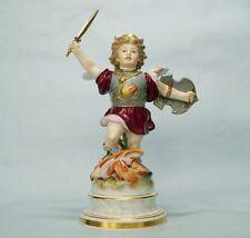 MEISSEN Figur  Amor als Held mit Drachen  modell Nr. L 113  H. SCHWABE um 1877