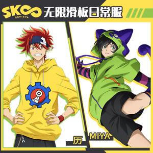 SK8 the Infinity Cosplay Hoodie Miya Kyan Chinen Reki Coat Pullover Sweatshirt