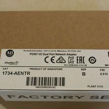 New Sealed A-B 1734-AENTR Ser B 2-Port Dual Network Adapter PLC Module