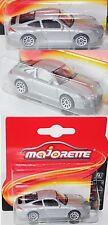 Majorette 212053050 Porsche 911 Typ 997 silber ca. 1:59