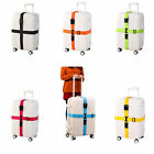 Adjustable Travel Luggage Belt Packing Strap Baggage Suitcase Secure Cross Belt