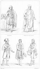 FRANCE. Directeur; Hte-cour Justice; Corps legislatif; Ministre; Tribunat 1875