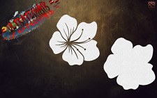 BK STANDARD FLOWER BLUMEN BACKGROUND STENCIL AIRBRUSH STENCIL TEMPLATE