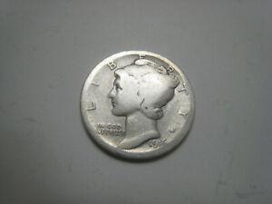 1916-P Mercury Silver Dime