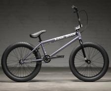 """2022 KINK BMX Launch Complet Vélo Mat Gris Tempête 20.25 20.25 """" Culte"""