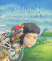 Alice's Adventures in Wonderland by Carroll, Lewis Hardback Book The Fast Free