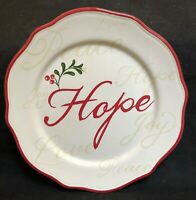 """RARE Better Homes & Gardens WINTER FOREST HOPE Salad Plate 8 3/4"""" EXCELLENT"""