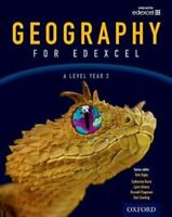Geography for Edexcel A Level Year 2 Student Book by Bob Digby 9780198366485