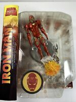 Marvel Select Classic Comic Iron Man Action Figure *New ~ Factory Sealed #GG