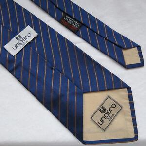 Authentic vintage Ungaro Paris made in italy neck tie