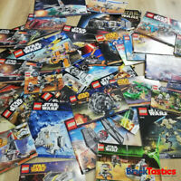 LEGO INSTRUCTION BOOKLET 10+PC'S per Pack, lucky dip, choose your theme, manuals