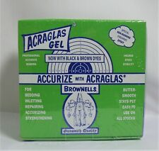 Gunsmithing AcraGlas 4 oz Gel Rifle Bedding Kit Resin Bed Repair Accurize Rifle