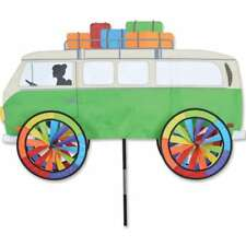 """VW Volkswagon Bus Staked Wind Spinner 38"""" With Pole & Mount..29 PR 26824"""
