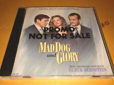 MAD DOG AND GLORY soundtrack CD score ELMER BERNSTEIN deniro uma bill murray
