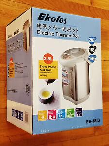 🔥 EKOLOS Hot Water Boiler Dispenser Electric Pot BRAND NEW IN BOX! 3.8L EA-3813