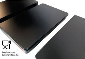 Plastikkarten SCHWARZ MATT | 1 - 500 Stück | Premium Qualität