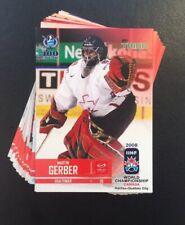 IIHF World Championship 2008 Team Switzerland (Full Set 25 cards)