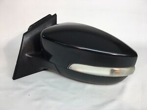 2012 12 13 14 Ford Focus POWER Side Mirror W/ Signal Left Driver Black