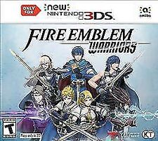 NEW FACTORY SEALED Fire Emblem Warriors (New Nintendo 3DS, 2017)