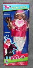 Sport Petra Reiterin Puppe NRFB OVP Plasty 80er 90er Jahre Vintage b
