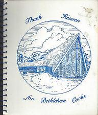 *ST CHARLES IL 1988 BETHLEHEM EV LUTHERAN CHURCH COOK BOOK *ETHNIC SCANDINAVIAN