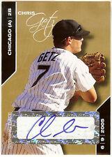 2008 Just Minors Glossy 1/1 Chris Getz Auto RC Kansas City Royals