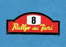 MOTO - Ed. Raf - Figurina/Sticker n. 263 - RELLYE DEI FIORI -Rec